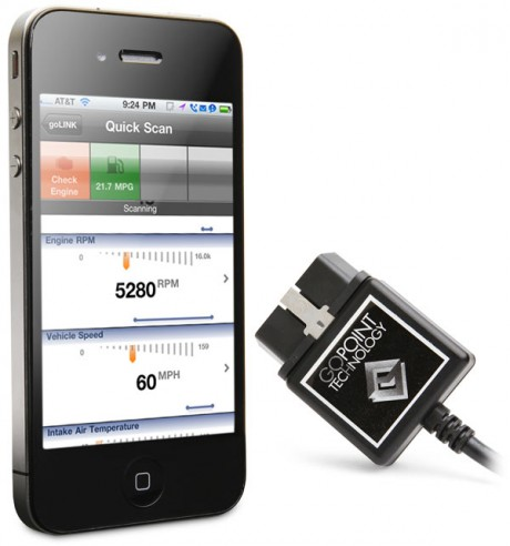 iphone vehicle diagnostic 460x492 The Apple Device App That Will Check Your Engine