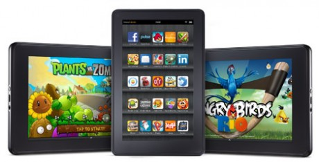 kindle fire 460x234 Amazon Releases New Kindle Fire Update