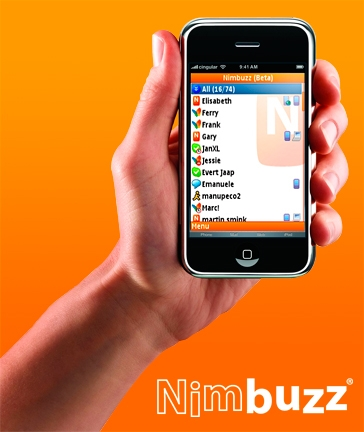 mobile messaging with nimbuzz Nimbuzz releases free iPhone app for calling and messaging