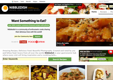nibbledish Tsavo Media acquires user generated recipe site Open Source Food