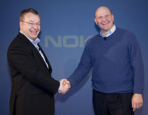 nokiamicrosoft 490x382 Why Nokia Chose Windows Phone 7 Over Android