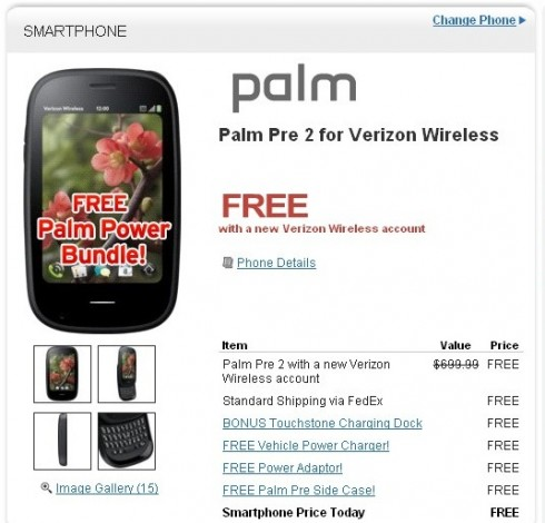 palmpre2free 490x470 Need A Free Smartphone? Just Ask HP
