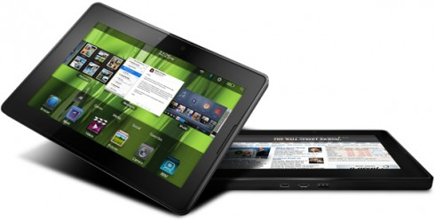 playbook white 490x250 Playbooks Outperforming Android Tablets?