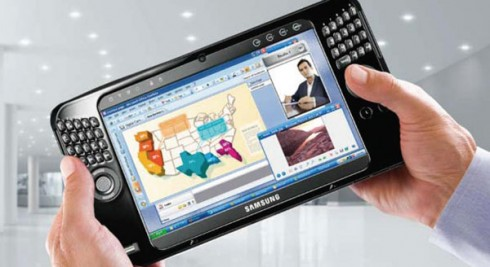samsung q1 a 490x267 Introducing the iPads Latest Challenger, Samsung Slate PC