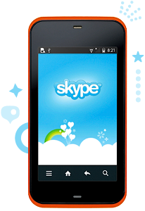 skypekddiandroid Skype Enters Androids Walled Garden Via KDDI?