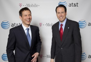 tmobileatt 300x203 AT&T and T Mobile announce merger in New York