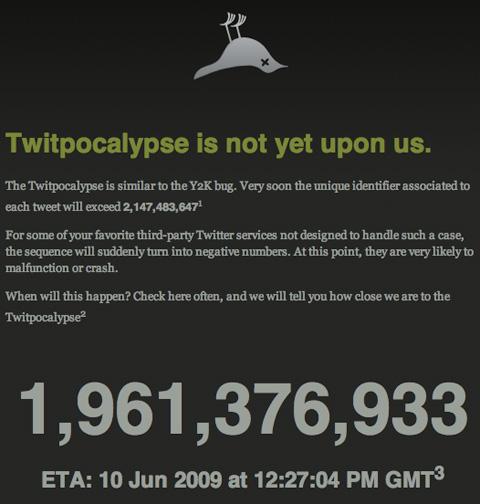 twitpocalypse