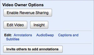 YouTube Revenue Sharing